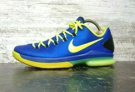 "Mens Nike KD V 5 Elite Basketball Shoes SZ 10 44 M Used ""Superhero"" 5853... - $64.35"