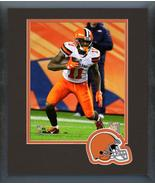 Antonio Callaway 2018 Cleveland Browns Action-11x14 Team Logo Matted/Fra... - $43.55