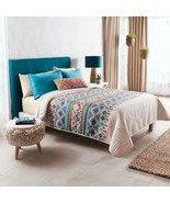 Colorful Tribal Textured Reversible Comforter King Size Soft and Warm 4PCS - $138.60