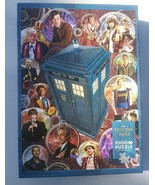 Cobble Hill Doctor Who The Doctors 1000 pc Jigsaw Puzzle Tom Baker David... - $13.85