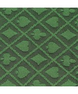 10' section of green two-tone poker table speed cloth - Polyester by Bry... - $48.99
