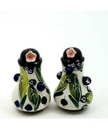 Salt and Pepper Shaker Set Blueberry Collectible Decorative Home Décor G... - $20.89