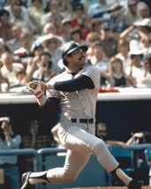 REGGIE JACKSON 8X10 PHOTO NEW YORK YANKEES NY BASEBALL PICTURE AT BAT - $3.95