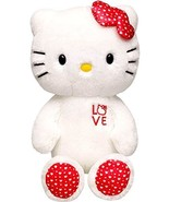 Build a Bear LOVE Hello Kitty Doll White and Red with Hearts Print Large... - $129.99
