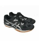 ASICS Gel Tactic Men's Sz 11.5 EU 43 Black Running Hiking Trail Shoes B504N - $35.99