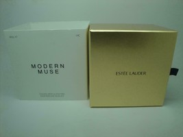 Estee Lauder Golden Articulated Fish Modern Muse Solid Perfume Necklace - $119.88
