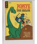 Popeye the Sailor #79 VF- february 1966 - dinosaur cover - swee'pea spinach - $27.99