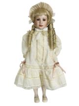 Mitzi Hargrave Porcelain Doll Morgan 24in LE 210 of 5000 - 1993 Seymour Mann - $44.10