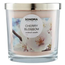 Sonoma Goods For Life Cherry Blossom Scented 3-Wick Candle - $22.99