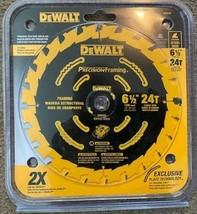 """Dewalt DW9199 6-1/2"""" x 24 Tooth Precision Framing Carbide Saw Blade - $12.87"""