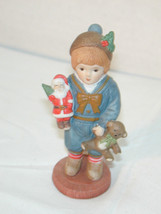1980's Giordana H3801 Georgi boy with Teddy & tree - $17.82