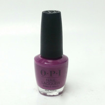 OPI Pamplona Purple NL E50 Nail Polish Lacquer 0.5 oz / 15 mL 100% Authe... - $12.99