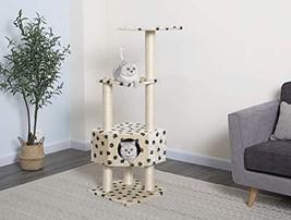 Go Pet Club Cat Tree Condo House Furniture, 51-Inch, Paw Print - $49.15
