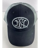 Shot Show 2020 FN Black Gray Baseball Style Snapback Cap Hat  - $23.75