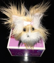 American Girl Coconut Collection SUGAR Pet Set Yorkie Puppy Dog Pink Bow - $24.50