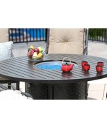 """OUTDOOR PATIO 60"""" ROUND DINING FIRE TABLE - SERIES 4000 - $2,970.00"""