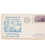 NATIONAL CONGRESS OF PARENTS AND TEACHERS P.T.A. 40th ANNIV. WASHINGTON ... - $1.98