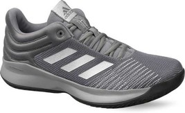 ADIDAS PRO SPARK 2018 MEN'S GREY RUNNING SHOES, F99901 - €44,33 EUR
