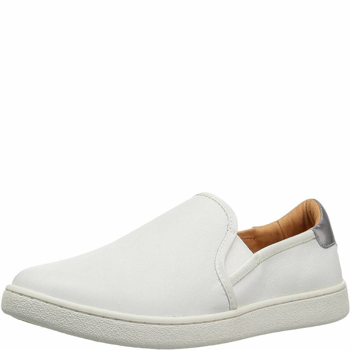 UGG Women's Cas Slip-on Fashion Sneakers White 5.5 M MSRP 100 New