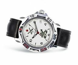 VOSTOK KOMANDIRSKIE. Men`s Russian solder military mechanical watch. 811275 - $26.50
