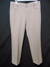 Vintage 70s Levis Action Slacks Mens Pants W 38 x I 28.5 Light Tan Scovi... - $39.00