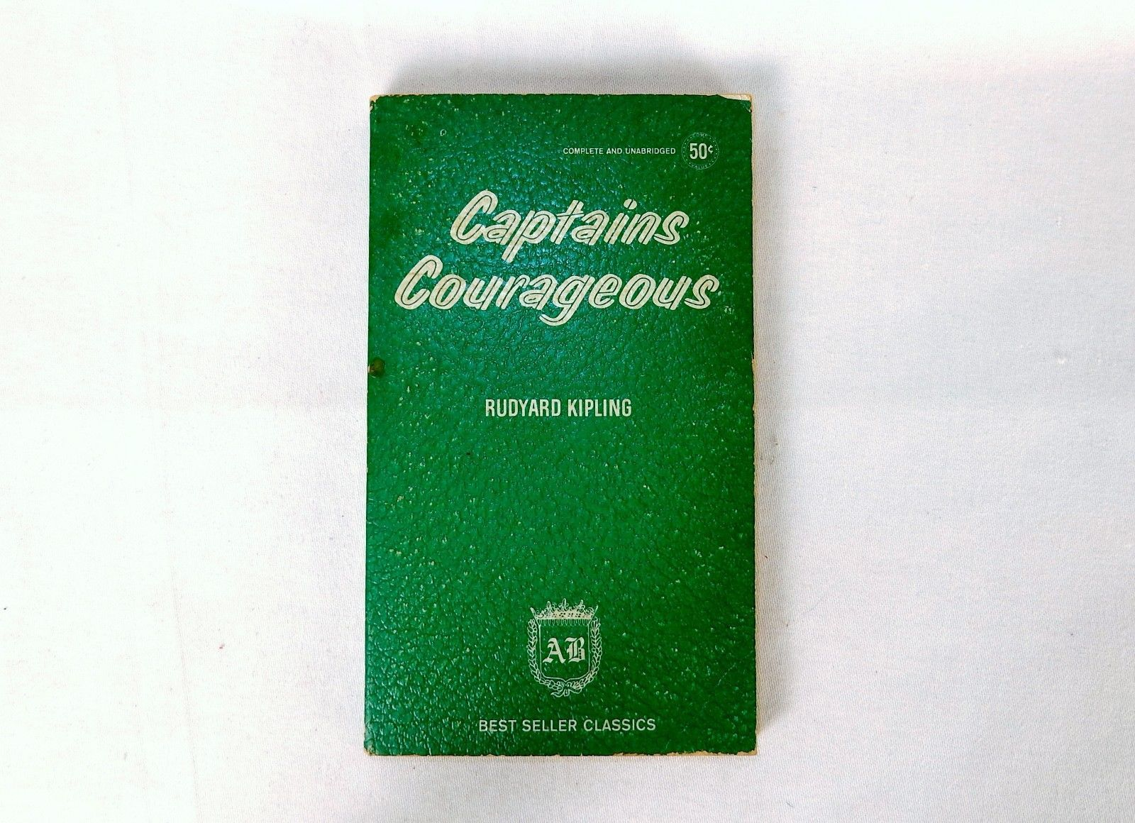 "Primary image for Vintage Paperback Book ""Captains Courageous"" by Rudyard Kipling ~ AB Classics"