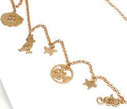 Necklace 70 cm, 925 Silver, Pendant Medusa Fish Crab Shell, le Favole image 3
