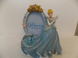 Disney Cinderella Picture Frame with Mini Castle Snowglobe  - $40.00