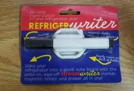 Dry Erase marker Magnet holder RefrigerWriter Fridge Writer whiteboard - $9.40