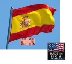 Español España 0,9x1,5m Resistente en / Exterior Super-Poly Bandera - $13.89