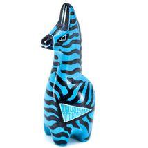Crafts Caravan Hand Carved Soapstone Striped Blue Giraffe Figurine Made Kenya image 3