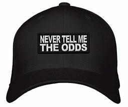 Never Tell Me The Odds Hat - Star Wars Han Solo Quote (Black) - $17.05