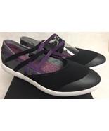 Teva Hydro-Life Slip-On Black Purple Women's Flats Shoes Size 8.5 M 1018... - $59.99