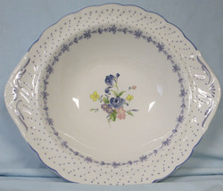 "Nikko Blue Peony Vegetable Serving Bowl 11"" - $22.66"