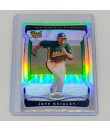 MLB JEFF BEASLEY OAKLAND ATHLETICS 2009 TOPPS FINEST REFRACTOR RC #147 MINT - $1.07