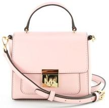 7b95efb36a93 Michael Kors Mindy Leder Umhänge- Tasche Kleine Handtasche Pink -  193.17