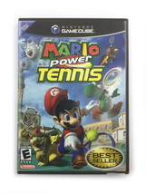 Nintendo GameCube Mario Power Tennis Complete w/ Manual and Inserts Tested 2004 - $26.50