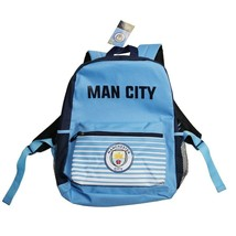 MANCHESTER CITY HOME BACKPACK OFFICIALLY LICENSED SHIPS FROM USA - $19.95