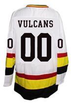 Custom Name # St Paul Vulcans Retro Hockey Jersey New White Any Size image 2