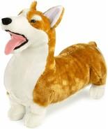 Melissa Doug Lifelike Plush Corgi Dog Stuffed Animal - $26.72