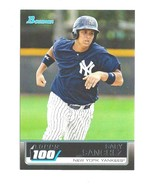 GARY SANCHEZ RC 2011 BOWMAN TOPPS 100 ROOKIE CARD#TP1 GEM MINT?-NY YANKE... - $9.89