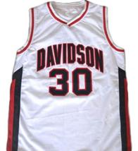 Stephen Curry #30 Davidson College Wildcats Basketball Jersey White Any Size image 1