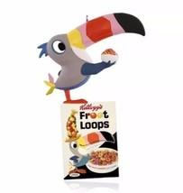 Toucan Sam 2015 Hallmark Ornament  Vintage Kellogg's  Froot Loops  Bird ... - $19.75