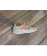 Women's Adidas Duramo 9 Running Shoes EG8671 Light Gray Coral Size 8 - $49.00
