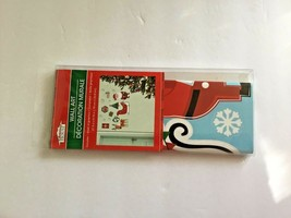 New Christmas House Wall Art Decor 27.5 x 9.75 Santa Sleigh reindeer Presents - $6.79