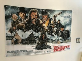 THE HATEFUL EIGHT Quention Tarantin Movie Poster Flag Banner Wall Tapestry - $25.11