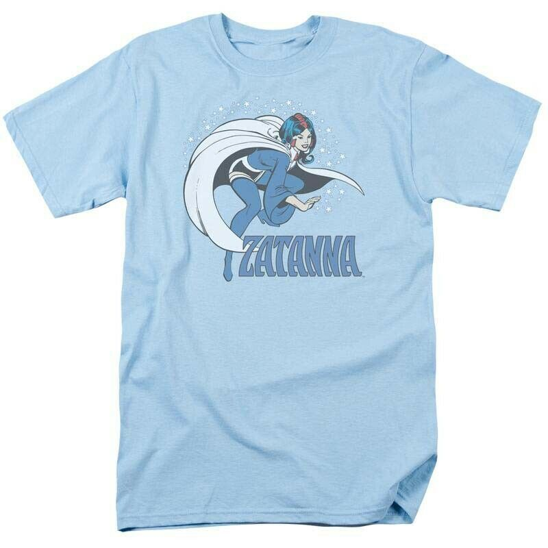Zatanna DC Comics retro graphic tee shirt Young Justice Gotham Girls DCO226