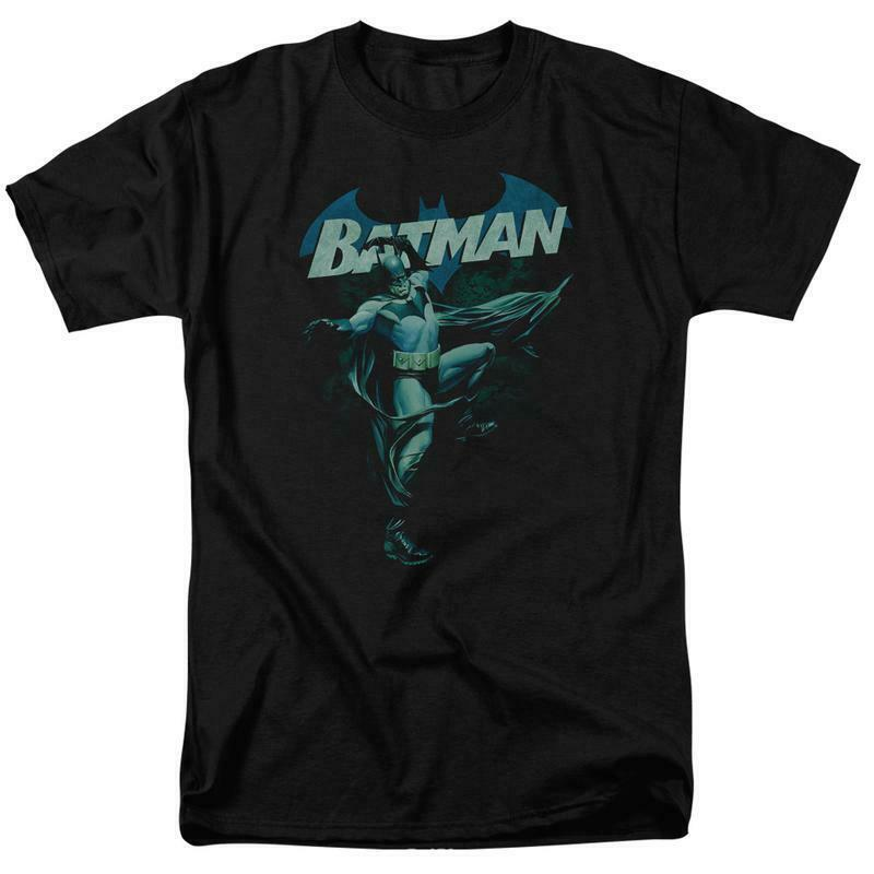 Batman t-shirt DC Comics Retro Superhero Gotham City Super Friends BM2359