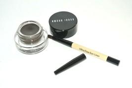 Bobbi Brown Long Wear Gel Eyeliner Espresso Ink Brown Full Size ultra fine brush - $28.66