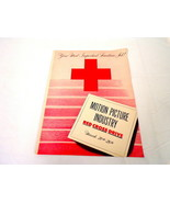 ORIGINAL Vintage 1946 Motion Picture Red Cross Drive Promotional Book  - $55.84